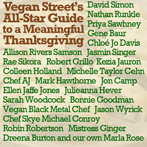 Vegan Street's All-Star Guide to a Meaningful Thanksgiving