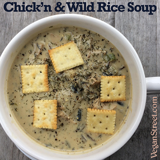 Chick'n & Wild Rice Soup