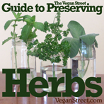 The Vegan Street Guide to Preserving Herbs